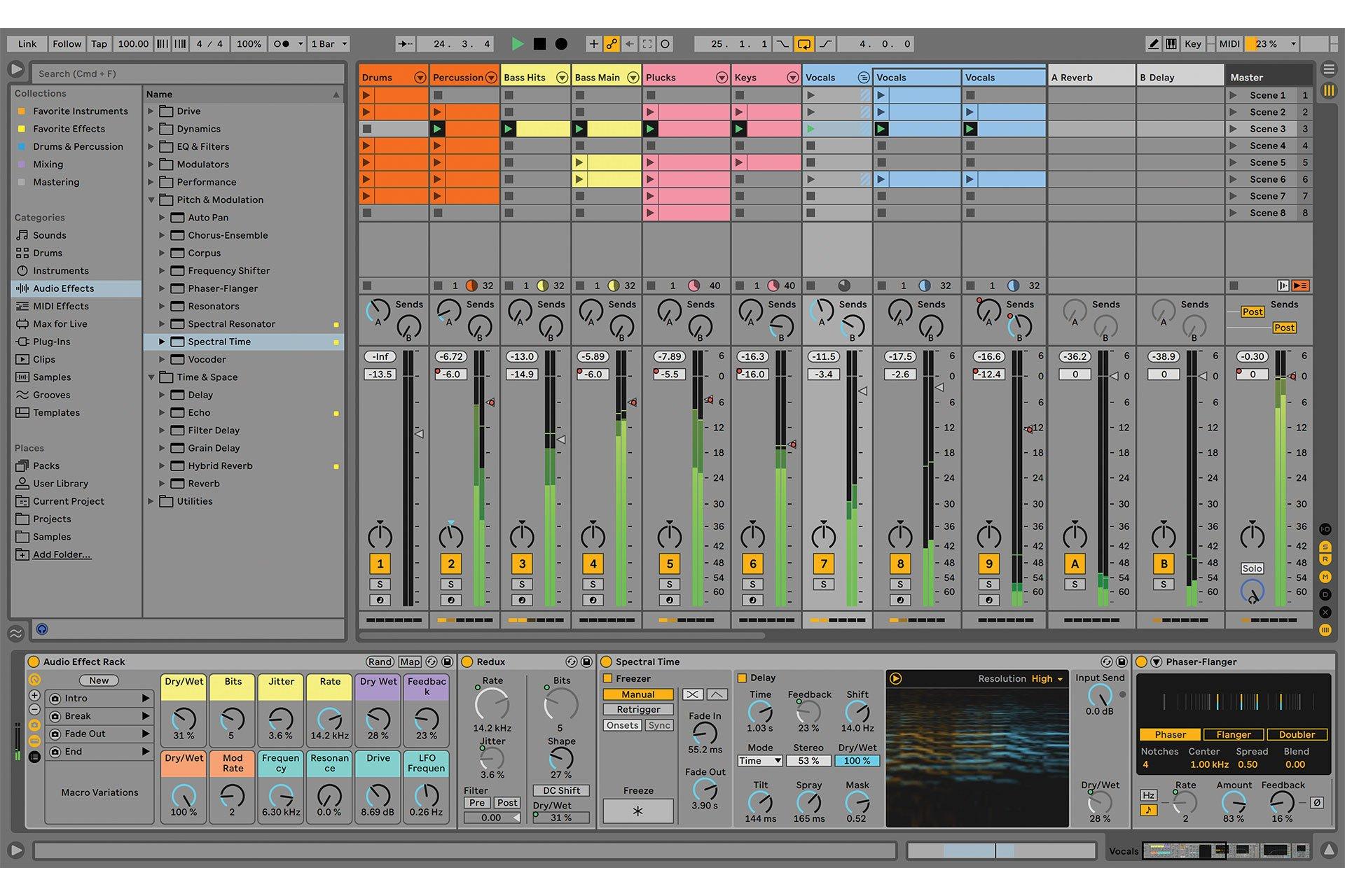 Sortie Ableton Live 11 New Rack