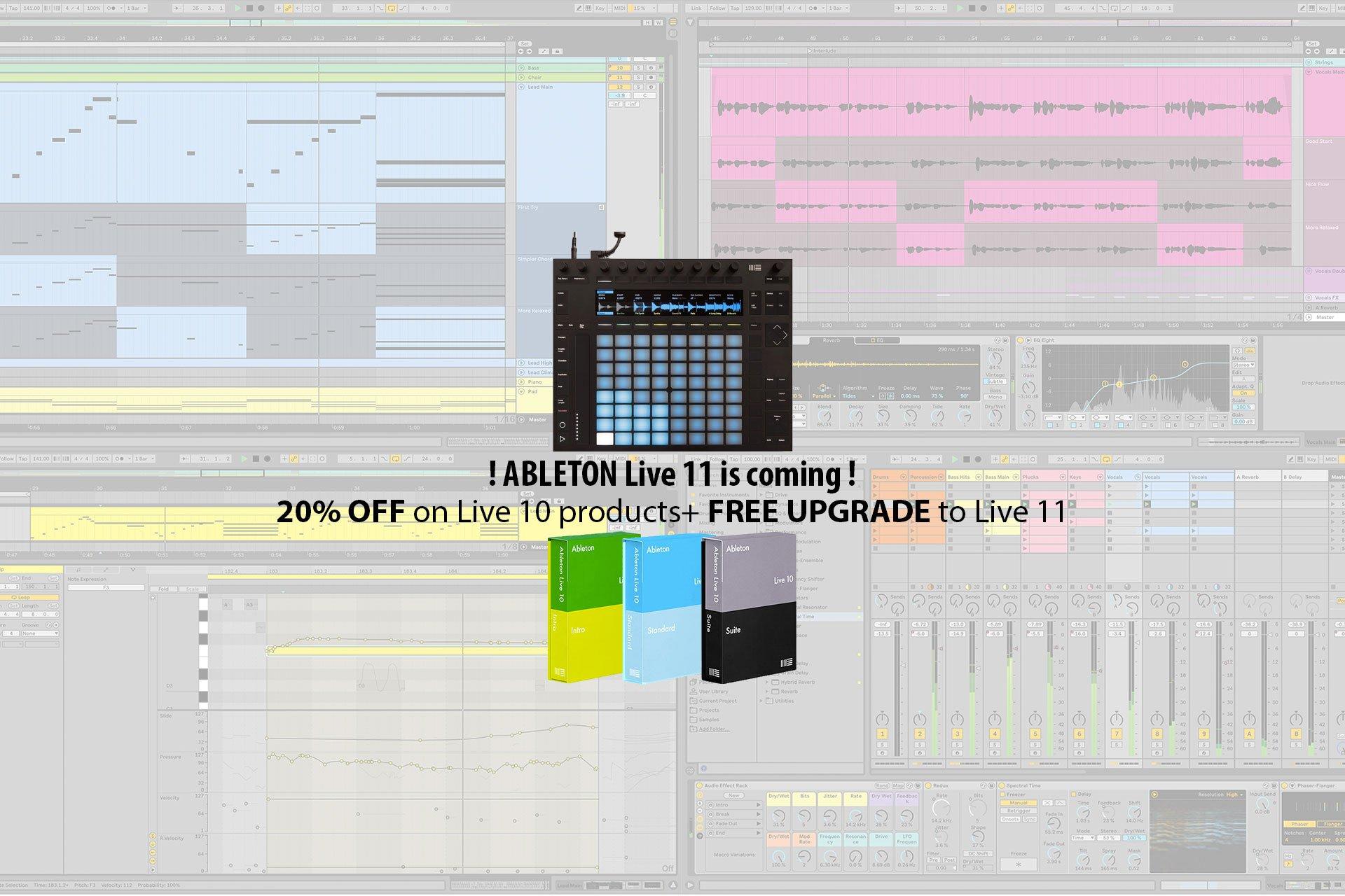 Promo Ableton Live 11
