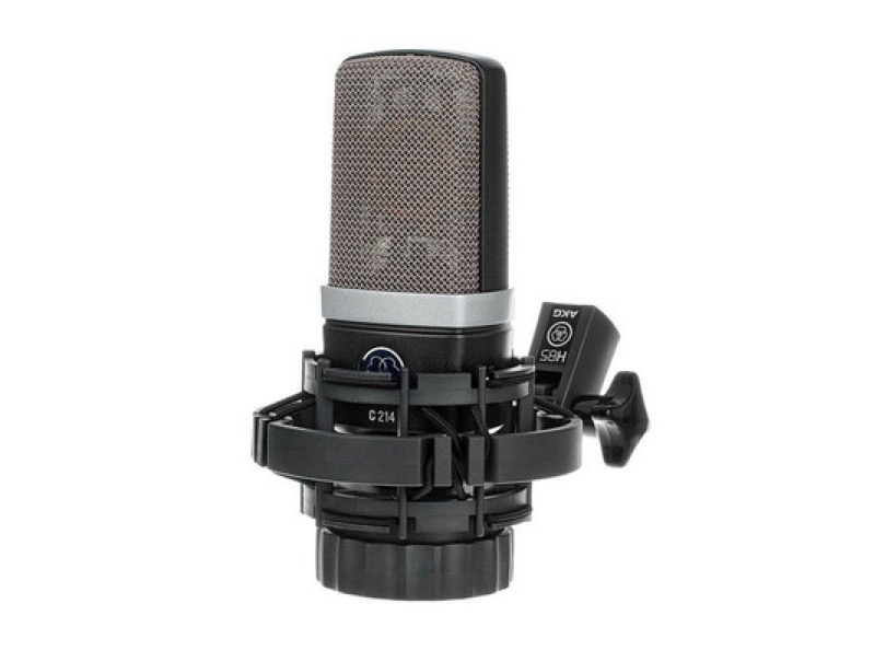 Akg C214 With Spider Clip