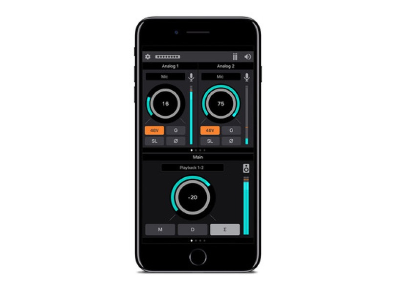 Apogee Element 24 Thunderbolt Audio Interface Software Smartphone