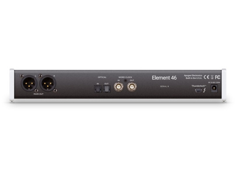 Apogee Element 46 Rear