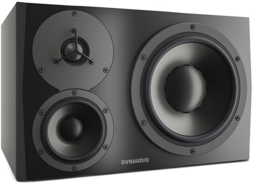 Dynaudio Lyd 48 Black Left Angle Left