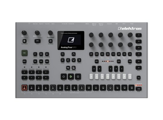 Elektron Analog Four Mkii Top