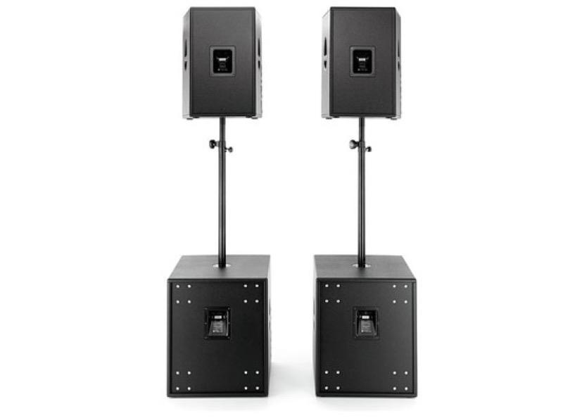Hk Audio Pro Kit 15d 18sub A Rear