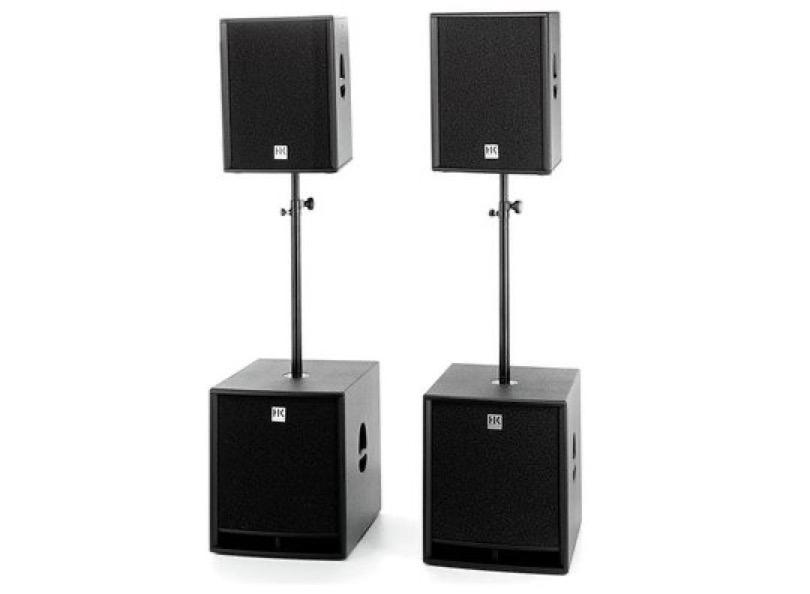 Hk Audio Pro Kit 15d 18sub A