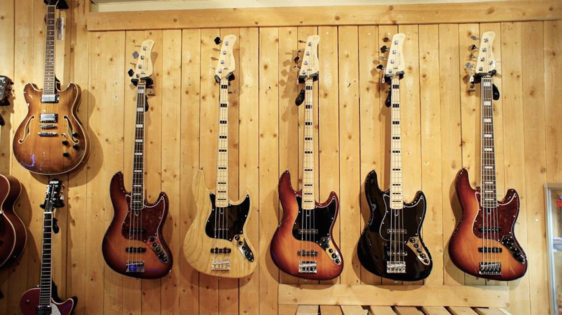 Guitares & basses