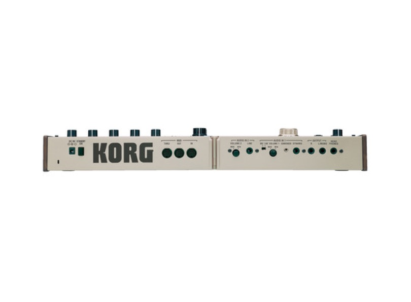 Korg Microkorg Rear