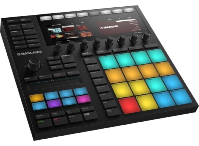 Native Instruments Maschine Mk3 Top Right