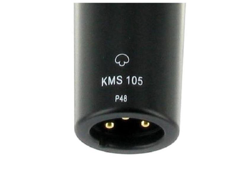 Neumann Km 105 Black Xlr Plug