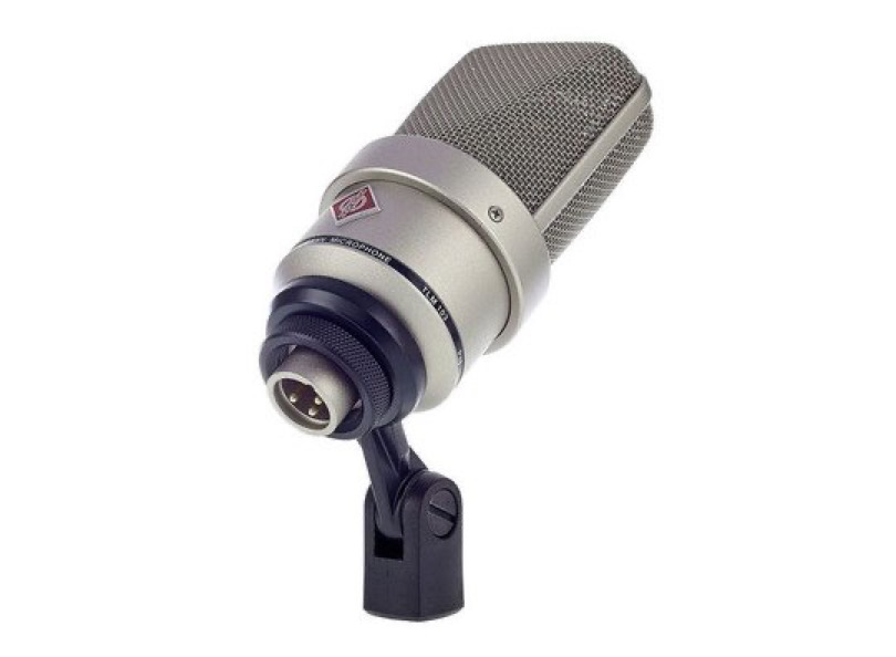 Neumann Tlm 103 Silver Clipped Front