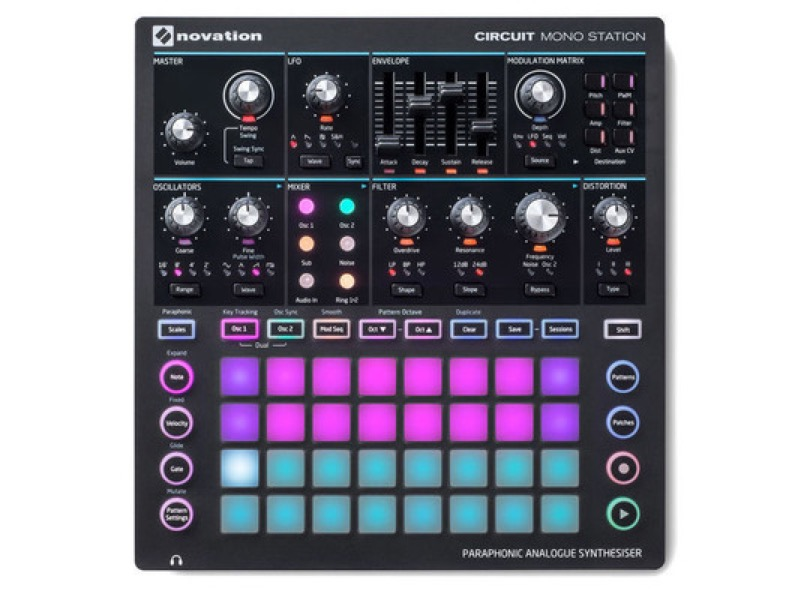 Novation - Circuit Monostation - Top