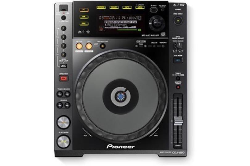 pioneer-dj-cdj-850-k-front