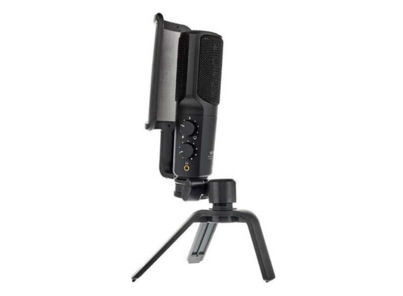 Rode Nt Usb Stand And Pop Shield Side