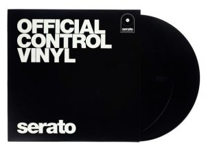 Serato Vinyl Performance Series Black With Cover