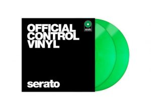 Serato Vinyl Performance Series Green With Cover