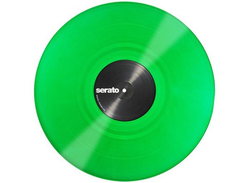 Serato Vinyl Performance Series Green