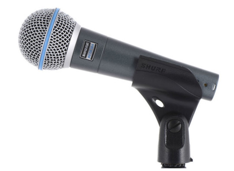 Shure Beta 58 Clipped Side