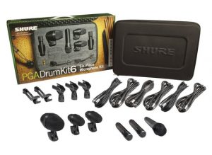 Shure Pga Drumkit 6 With All Accessories
