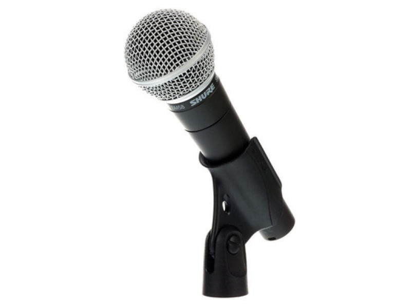 Shure Sm 58 Clipped Front