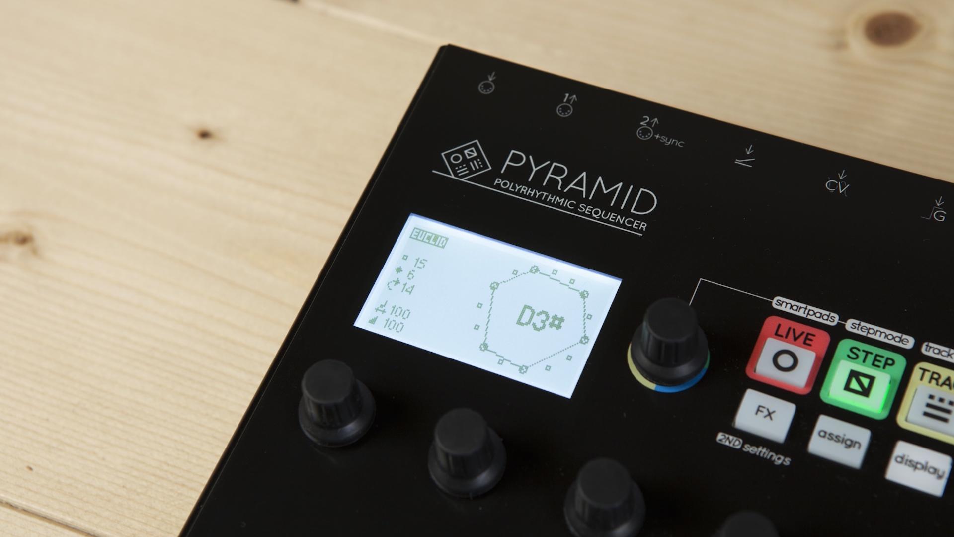 Squarp Instruments - Pyramid - Détail