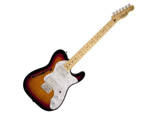 Squier - 72 Thinline Telecaster